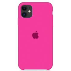 Чехол Silicone Case розовый для iPhone 11