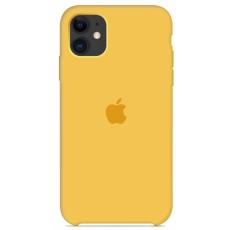 Чехол Silicone Case желтый для iPhone 11