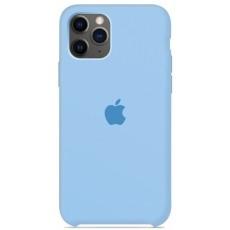 Чехол Silicone Case голубой для iPhone 11 Pro