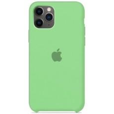 Силиконовый чехол зеленый для iPhone 11 Pro