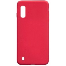 Чехол silicon cover для Samsung Galaxy A01 SM-A015F (красный)
