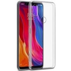 Чехол силиконовый для Xiaomi Mi 8 (прозрачный)