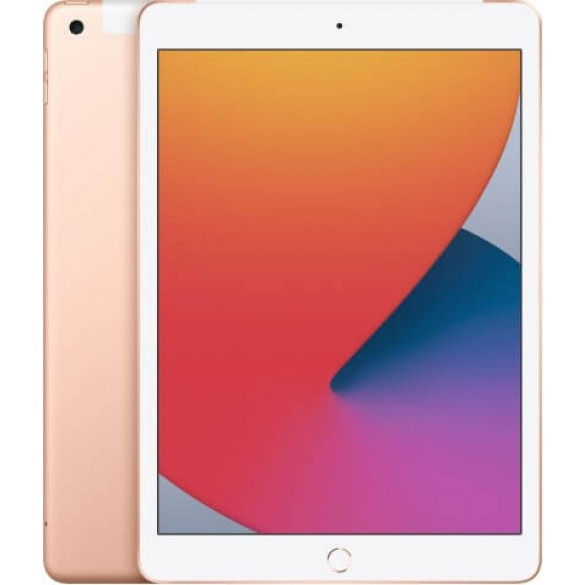 Планшет Apple iPad 2020 10.2 Wi-Fi + Cellular 32Gb Gold (золотой)
