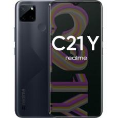 Смартфон Realme C21Y 4/64Gb черный