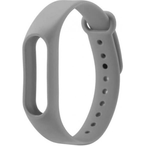 Ремешок для Xiaomi Mi Band 2 серый
