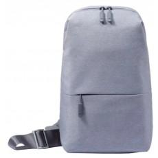 Рюкзак Xiaomi Mi City Sling Bag светло-серый
