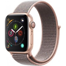 Apple Watch Series 4 GPS 40mm Aluminum Case with Sport Loop Pink (розовый)