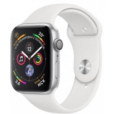 Apple Watch Series 4 GPS 44mm Aluminum Case with Sport Band Silver (серебристый)