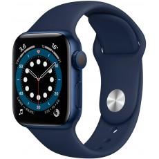 Умные часы Apple Watch Series 6 40mm корпус из алюминия синий, ремешок синий