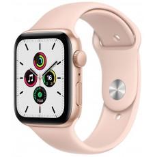 Умные часы Apple Watch SE 40mm корпус из алюминия золотого цвета, ремешок розовый