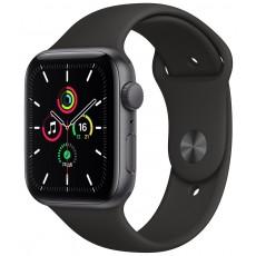 Умные часы Apple Watch SE 40mm корпус из алюминия серый космос, ремешок черный